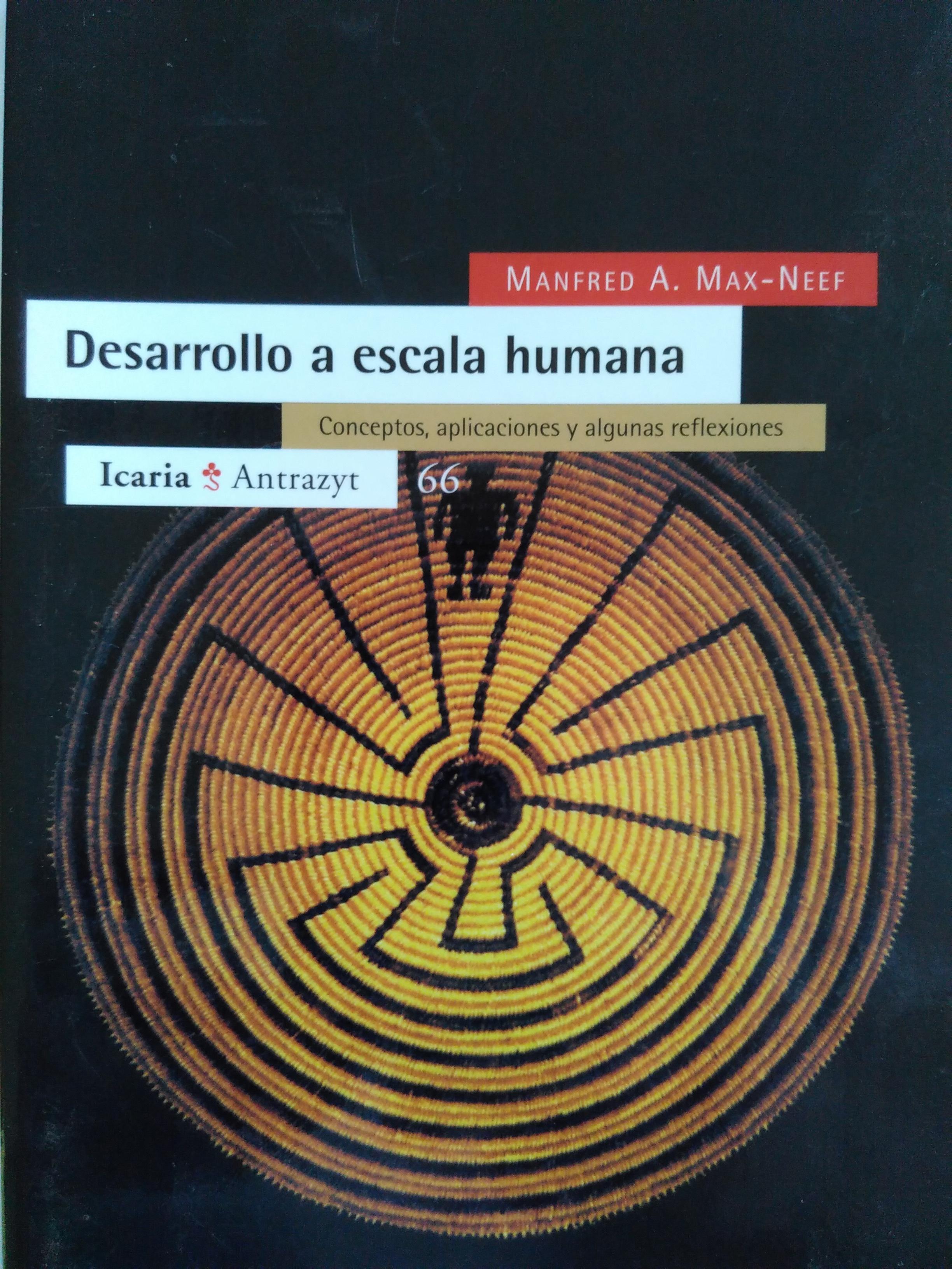 Desarrollo a escala humana. Conceptos, aplicaciones y algunas reflexiones. Manfred A. Max-Neef. 1994