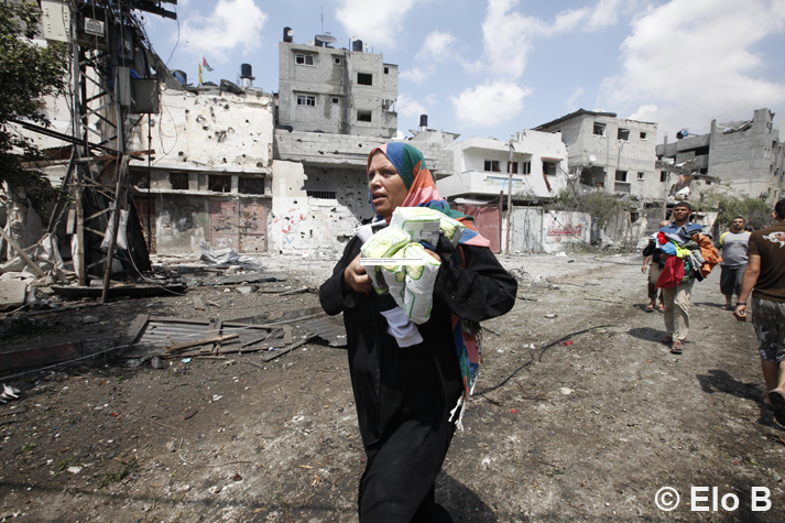 13th day of the Operation Protective Edge on the Gaza Strip